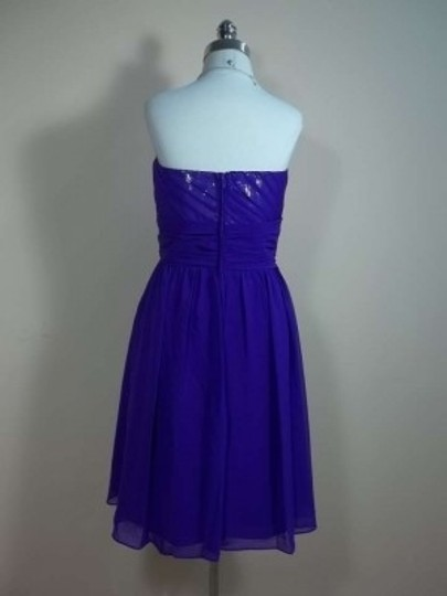 Alfred Angelo Viola Chiffon 7242s Formal Bridesmaid/Mob Dress Size 16 (XL, Plus 0x)