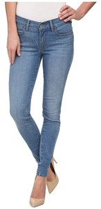 Levi's Denim 710 Skinny Jeans-Light Wash