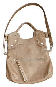 Foley + Corinna Leather Tote in Beige