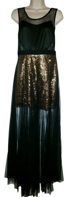 Preload https://img-static.tradesy.com/item/1509084/katia-black-and-gold-sheer-mesh-sequin-long-cocktail-dress-size-8-m-0-0-650-650.jpg