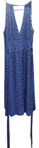 Marc by Marc Jacobs short dress Blue Floral on Tradesy