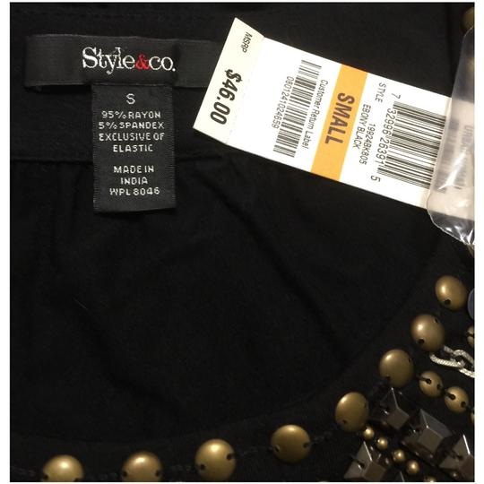 Style & Co Black Top - 33% Off Retail hot sale 2017