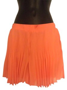 BCBGeneration Polka Dot Mini Skirt Orange