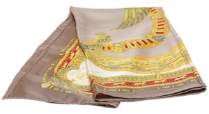 Cartier Cartier Gold Multicolor Silk Scarf