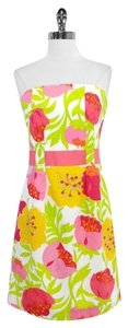 Lilly Pulitzer short dress pink, yellow, & green on Tradesy