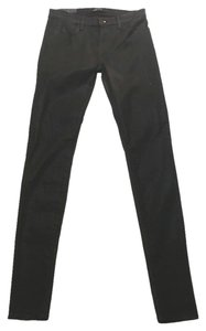 J Brand Stacked Super Skinny Jeans-Coated