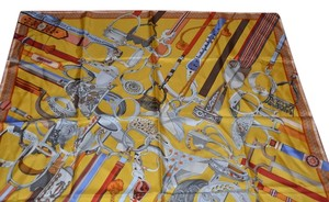 Herms HERMES SILK SCARF SCARVES WRAP