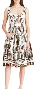 Kate Spade short dress black, brown, and white on Tradesy