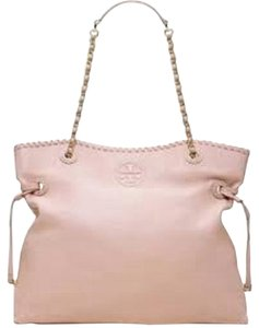 Tory Burch Marion Slouchy Tote in Light Oak
