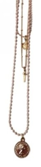 Preload https://item5.tradesy.com/images/brandy-melville-gold-and-light-pink-three-chain-necklace-150934-0-0.jpg?width=440&height=440