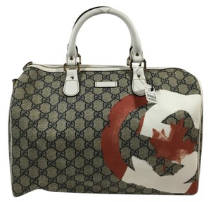 Gucci Joy Boston Satchel in Gray