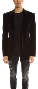 BLK DNM Velvet Men's Black Blazer