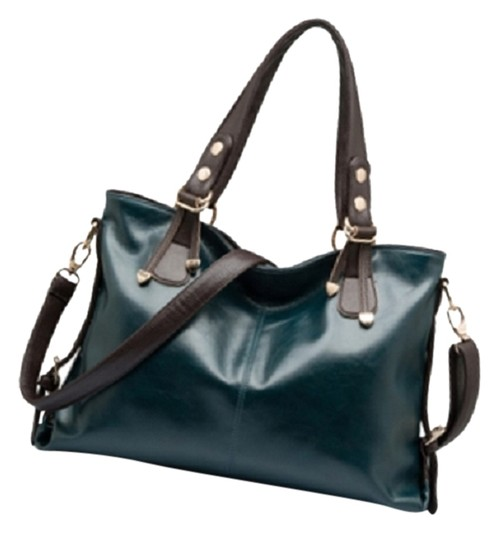 Chispaulo New Leather Double Straps Shoulder Bag