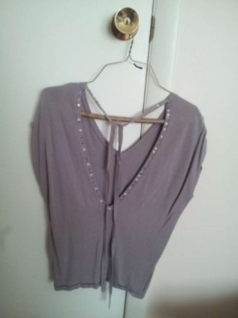 Charlotte Russe Top Grayish purple