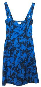 Urban Outfitters short dress Blue and black on Tradesy