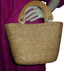 Faded Glory Tote in natural