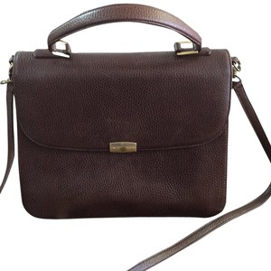 Mark Cross Satchel in Chocolate
