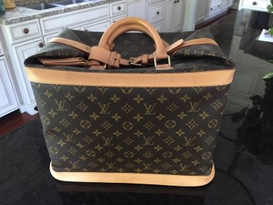 Louis Vuitton Gm Mm Speedy Totally Neverfull Brown Travel Bag