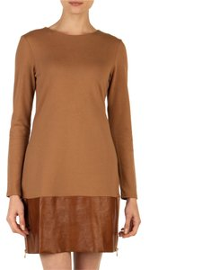 Ted Baker short dress tan and brown on Tradesy