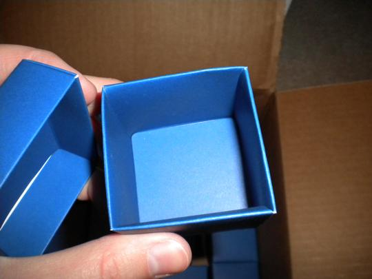 Blue Boxes For Wedding Favors