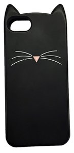 Kate Spade Kate Spade Black Cat Silicone iPhone 5/5S Case