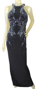 Laurence Kazar Maxi Sequin Dress