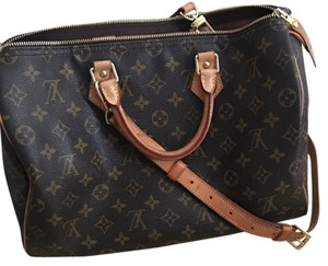 Louis Vuitton Speedy 35 Satchel in Monogram