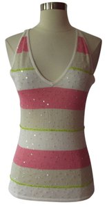 Laundry by Shelli Segal Top Pink/ Ivory