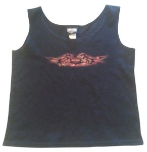 Harley Davidson Hd Ride Live Sleeveless Top Black