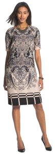 Chico's short dress Blush Paisley Plaid on Tradesy