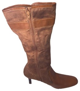 Predictions Knee High Brown Boots