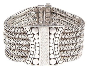 John Hardy Six Row Diamond Dots Bracelet
