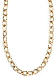Stella & Dot Stella & Dot Christina Link Necklace in Gold