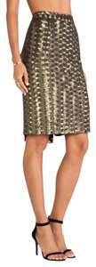 Hunter Bell Skirt Black Gold