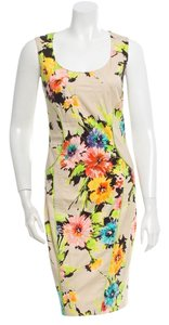 Blumarine Sleeveless Figure-flattering Designer Italian Dress