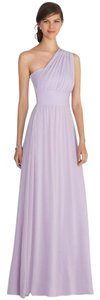 White House | Black Market Lavender Genius Chiffon Convertible Dress