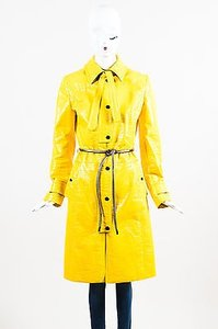 Dolce&Gabbana Button Long Sleeve Belted Trench Rain Raincoat
