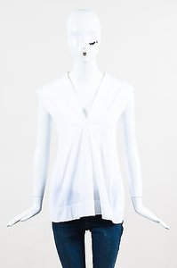 Jil Sander Poplin Top White