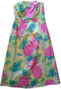 Lilly Pulitzer short dress multi-colored on Tradesy