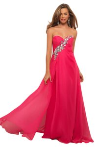 Blush Prom Gown Dress