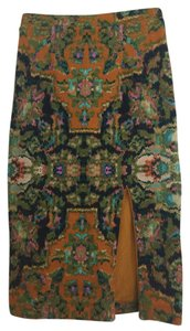 Maeve Tapestry Pattern Skirt Multi