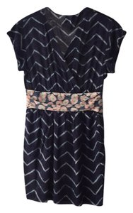 Rachel Roy short dress Navy blue on Tradesy