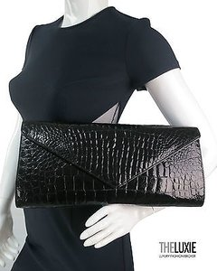 Eileen Kramer Very Oversized BLACK Clutch