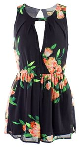 Floral Shorts High-waisted Dress