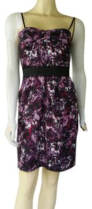 Max and Cleo short dress Purple Silky Padded Cups Sheath on Tradesy