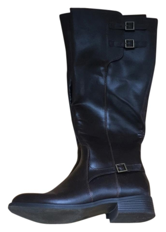 Women's Easy Target Dark Brown Boots/Booties Easy Women's to clean surface 11ca65