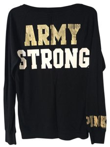 Victoria's Secret Pink Us Army Military Longsleeve Sweater