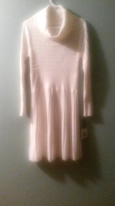 Calvin Klein short dress Cream Sweater on Tradesy