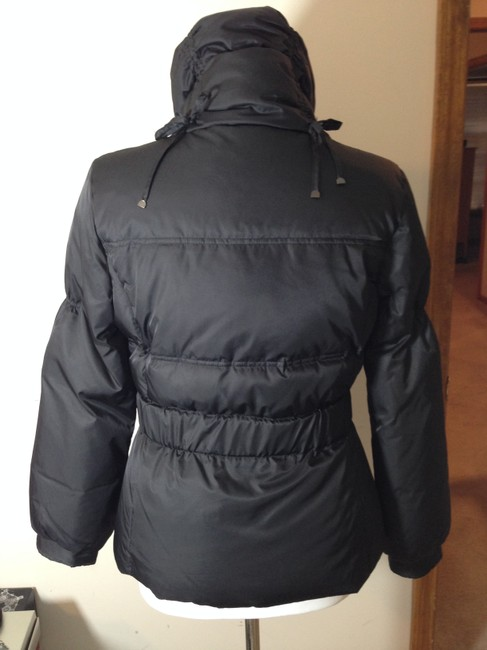Kenneth Cole Reaction Puffer Down Filled Belted Coat