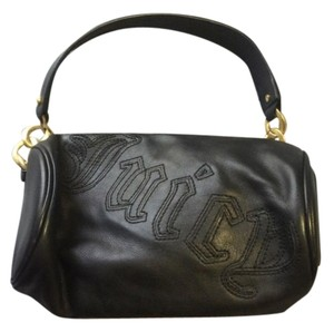 Juicy Couture Leather Black Clutch
